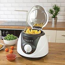 Quest 35150 1L Deep Fat Fryer   Non-Stick Basket