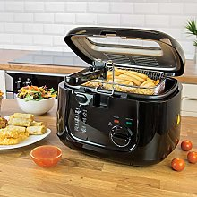 Quest 35239 2.5L Deep Fryer / Features Removable