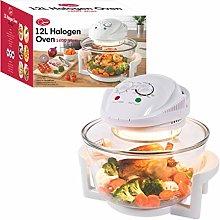 Quest 43890 Halogen Oven Low Fat Fryer Glass
