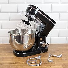 Quest 5L 1200W Stand Mixers / Metallic Black or