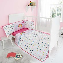 Quest-Mart® Luxury JUNIOR COT BED SHEET COVERLET