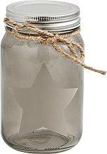 Quid Rustik Jar 0.5L, Beige, 8x 8x 13cm