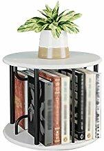 Quiet 360° Rotating Desktop Bookshelf, Small