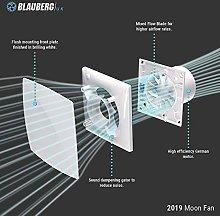 Quiet Bathroom Extractor Fan Timer, Humidity or