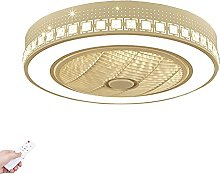 Quiet Ceiling Fan Light with Lighting LED Remote