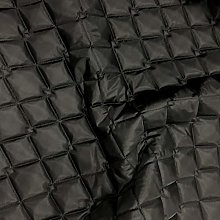 Quilted Fabric Black 2OZ Waterproof Soft Jackets