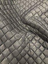 Quilted Fabric Dark Grey Waterproof Outdoor