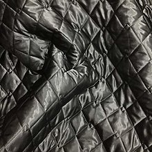 Quilted Fabric Satin Dress Soft Clothing Material