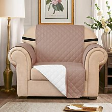 Quilted Reversible Armchair Slipcover Symple Stuff