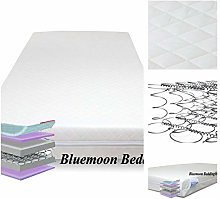 QUILTED SPRING COT BED MATTRESS BABY COT