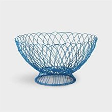Quince & Cook - Blue Wire Fruit Bowl