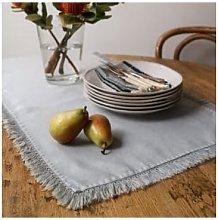 Quince & Cook - Natural Linen Table Runner Light
