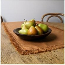 Quince & Cook - Natural Linen Table Runner Soft