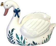 Quince & Cook - Secret Garden Swan Egg Cup With