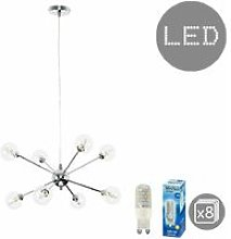 Quirky Lounge Living Room Lighting 8 Way Ceiling