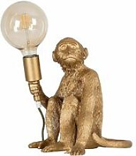Quirky Monkey Holding Bulb Table Lamp Bedside
