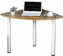 QULONG Home Solid Wood Corner Desk, Simple And