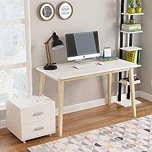 QULONG Nordic Computer Desk Solid Wood Household