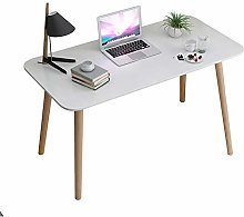 QULONG Nordic Solid Wood Computer Desk, Modern