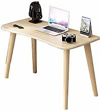 QULONG Nordic Wooden Computer Table, Simple And