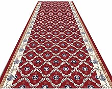 QULONG Red Persian Floral Oriental Formal