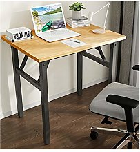 QULONG Simple Long Work Folding Desk, Simple Study