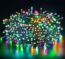 Quntis LED String Lights Colorful 20M 200LED CE