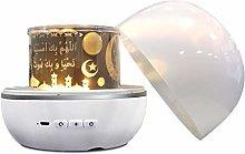 Quran Speaker Projector Night Light, Wireless