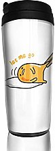 Qurbet Coffee Travel Mug, Japan Gudetama Lazy Egg,