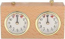QuRRong Chess Timer Wooden Competition Game Chess