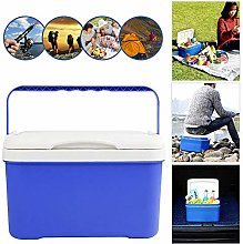 QUUY 6L Liter Rolling Cool Box Ice Drinks Food
