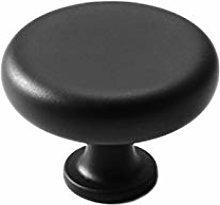 Quyi Cabinet Knobs,Drawer Knobs Black Round