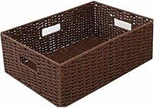 Quyi Storage Boxes Rattan Woven Debris Household