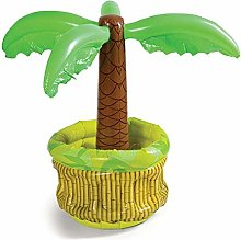 QUYY Inflatable Palm Tree Cooler, Beach Theme