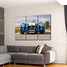 QWASD Canvas Print Wall Art For Living Room Decor