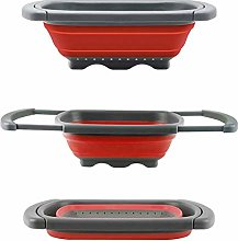 Qwawa Collapsible Colander, Folding Baskets with