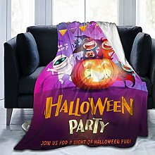 QWERDF Halloween Celebration Fun Party Blanket