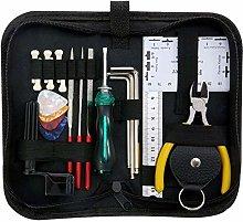 qwertyu Guitar Repairing Tool Kit with Carry Bag
