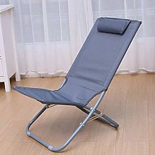 qwertyuio Portable Lounge Chair Folding Outdoor