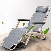 qwertyuio Portable Lounge Chair Folding Zero