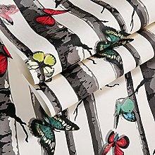 QWESD Chinese retro imitation trees wallpaper