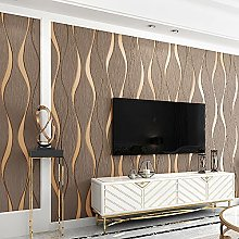 QWESD Curve Stripe Video Wall Decoration 3D Stereo