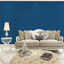 QWESD Dark blue indigo plain color glossy