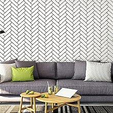 QWESD Modern minimalist black and white lattice