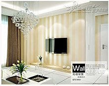 QWESD Nonwoven Wallpaper Bedroom Vertical Stripes,