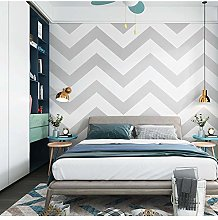 QWESD Wave Pattern Wallpaper Nordic Style