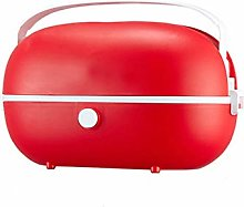 QWG Heated Bento Box,Lunch Stainless Steel Food