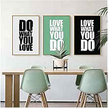 QWGYKR Decoration Wall Art Canvas Poster And Print