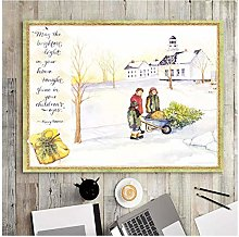 QWGYKR Home Decoration Print Canvas Wall Art
