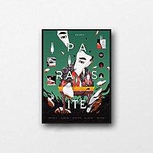 QWGYKR Parasite Movie Minimalist Canvas Poster Art